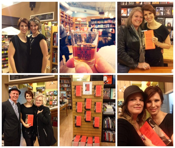Book Party Collage